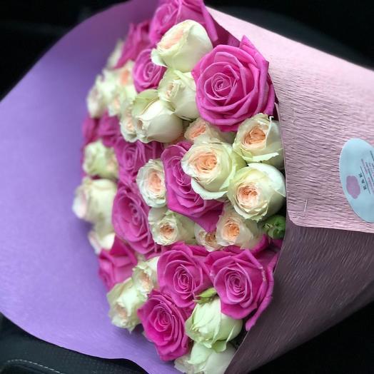 Комплимент для мамы: букеты цветов на заказ Flowwow