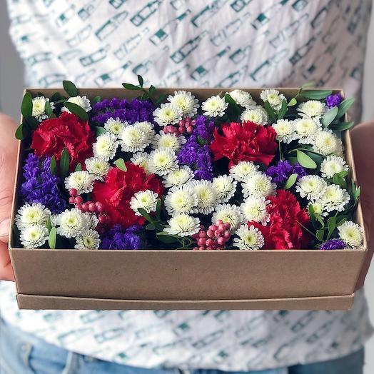 Box 19 Малый 1: букеты цветов на заказ Flowwow