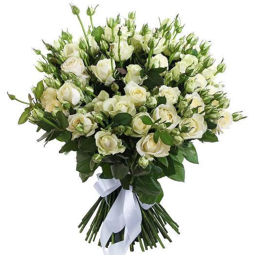 "Букет из роз ""Ксения"": букеты цветов на заказ Flowwow"