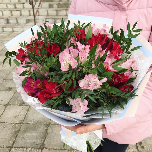 Супер стойкая альстромерия: букеты цветов на заказ Flowwow
