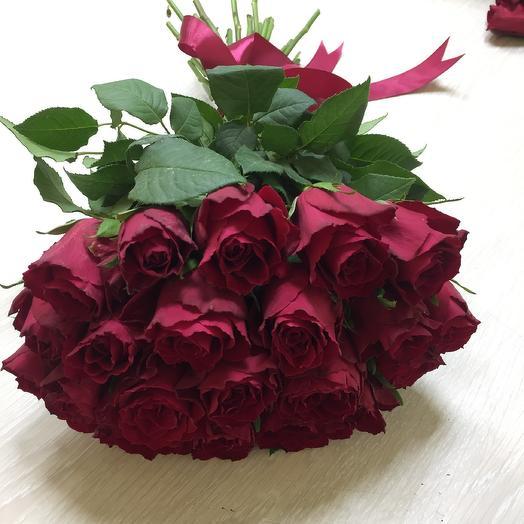 Букет из роз «Амур»: букеты цветов на заказ Flowwow