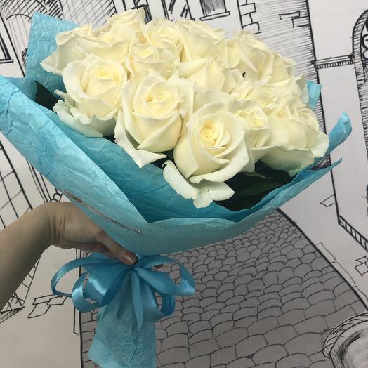 Аваланж 25 роз: букеты цветов на заказ Flowwow
