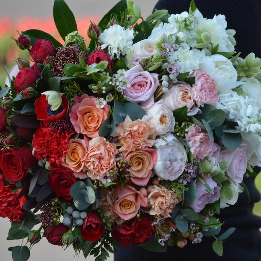 Маджента: букеты цветов на заказ Flowwow