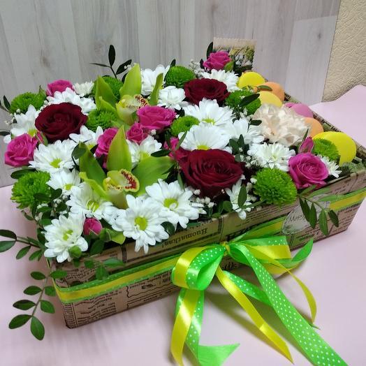 Фисташковый десерт: букеты цветов на заказ Flowwow
