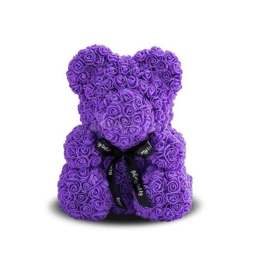Мишка из роз 25 см: букеты цветов на заказ Flowwow