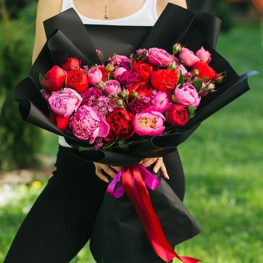 Ночное рандеву: букеты цветов на заказ Flowwow