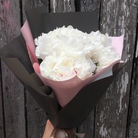 Пиономания из пионов: букеты цветов на заказ Flowwow