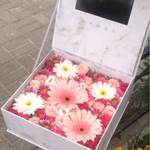 🔥🔥🔥🔥видеопоздравление: букеты цветов на заказ Flowwow