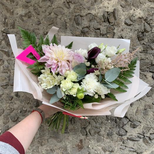 Букет для любимой учительницы: букеты цветов на заказ Flowwow