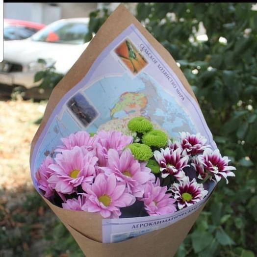Букет отличника: букеты цветов на заказ Flowwow