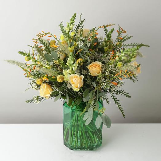 """Букет """"Лимонная Цедра"""": букеты цветов на заказ Flowwow"""