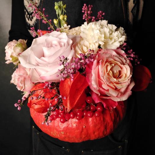 Тыквенное счастье: букеты цветов на заказ Flowwow
