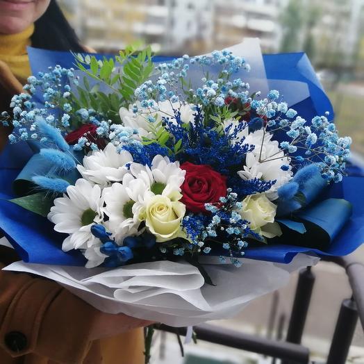 Счастливый: букеты цветов на заказ Flowwow