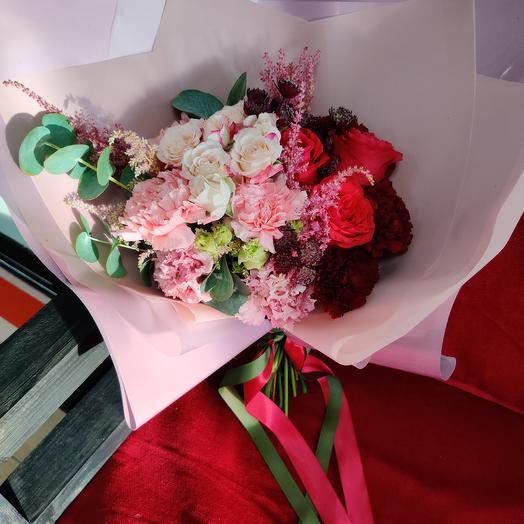 Букет 63: букеты цветов на заказ Flowwow