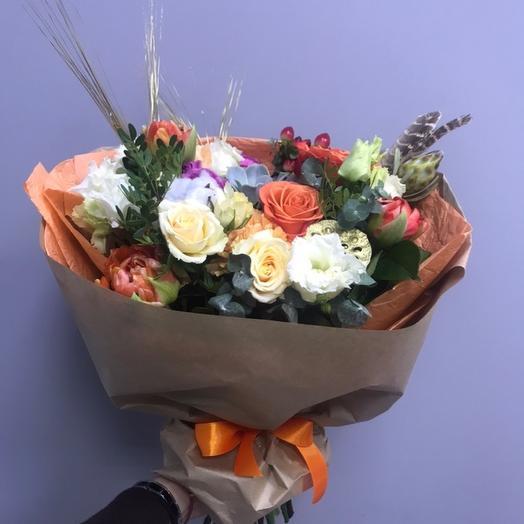 Осеннее наслаждение: букеты цветов на заказ Flowwow
