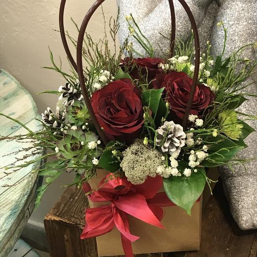 Сердце для неё: букеты цветов на заказ Flowwow