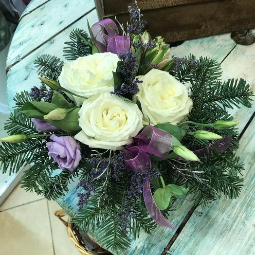 Морозная свежесть: букеты цветов на заказ Flowwow