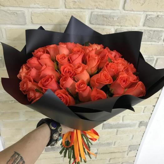 Букет из роз Вау WoW: букеты цветов на заказ Flowwow