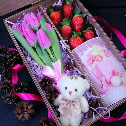 Сюрпризик: букеты цветов на заказ Flowwow