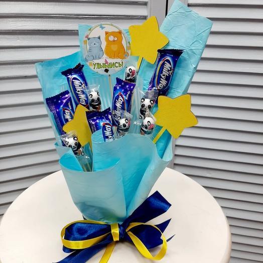 Улыбнись :)): букеты цветов на заказ Flowwow