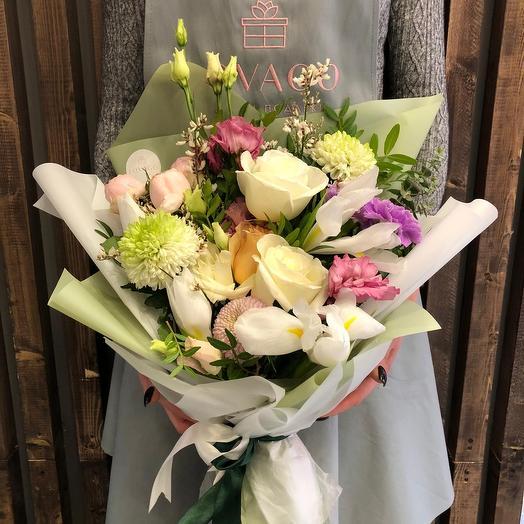 Зелёное чудо: букеты цветов на заказ Flowwow
