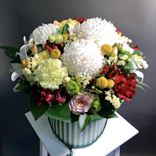Коробка «Цветочное облако»: букеты цветов на заказ Flowwow