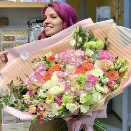 Букет «Цветы решают всё»