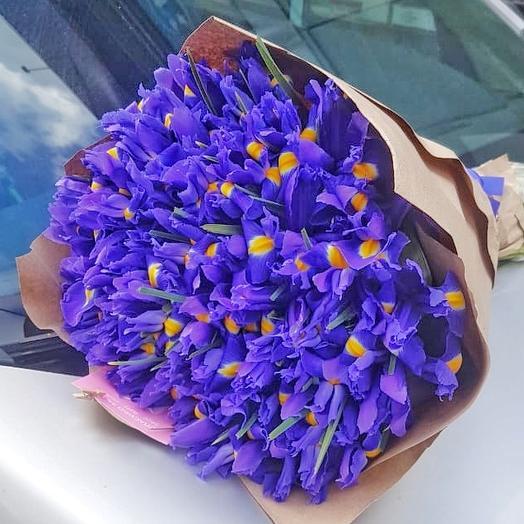 Синие грезы: букеты цветов на заказ Flowwow