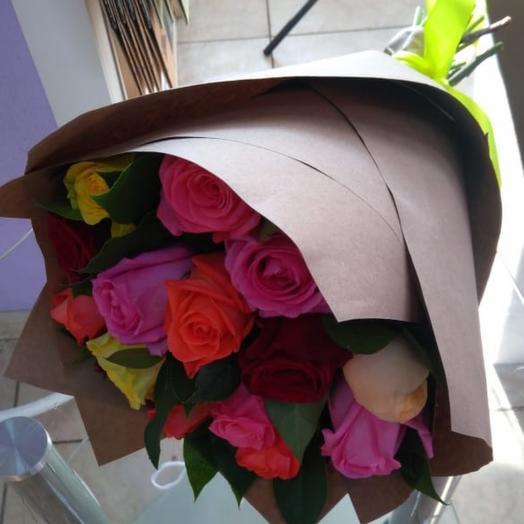 Букеты из роз: букеты цветов на заказ Flowwow