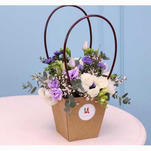 Цветы в кашпо Нежный флёр