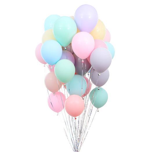 Воздушные шары Макарунс, 30 шт