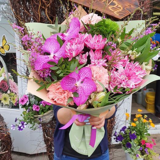 Букет в розовых оттенках