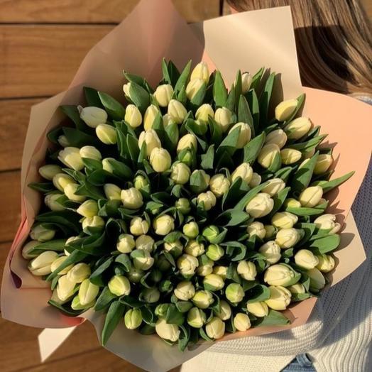 """Букет тюльпанов 101 """"Милая"""""""
