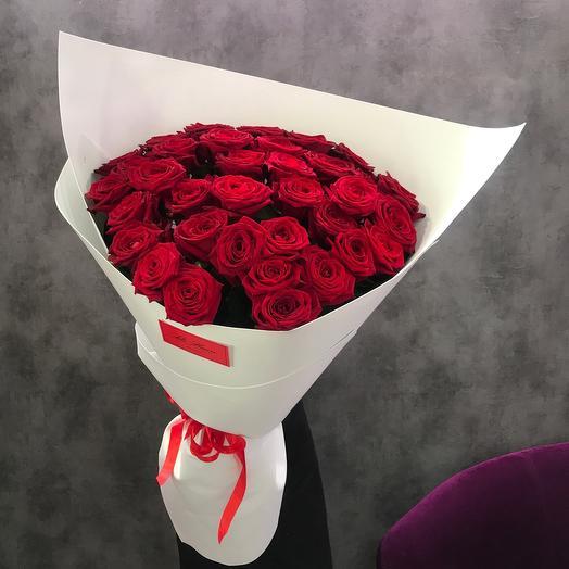 Букет гигант высоких роз