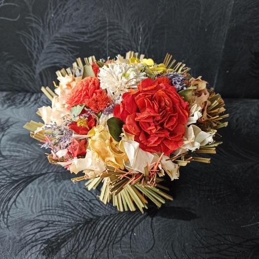 Сухоцветы в букете