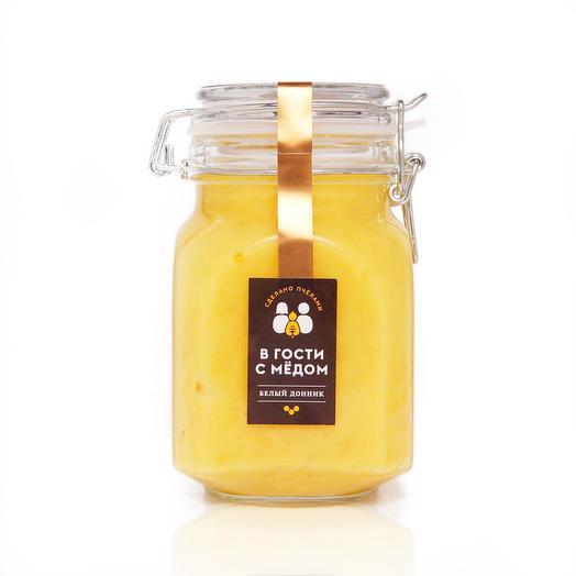 "Мёд ""Белый донник"" (пищевой пластик 600 гр)"