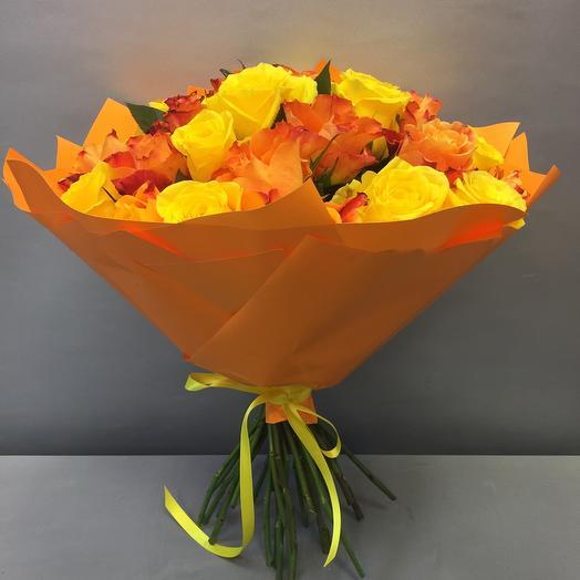 Микс из 31 розы