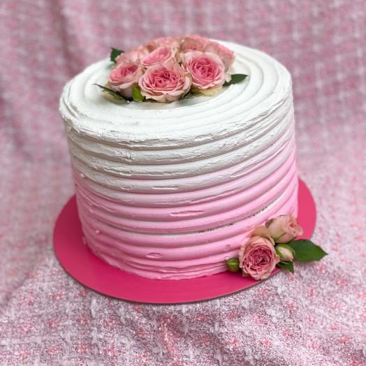 Торт с розами 3,5 кг
