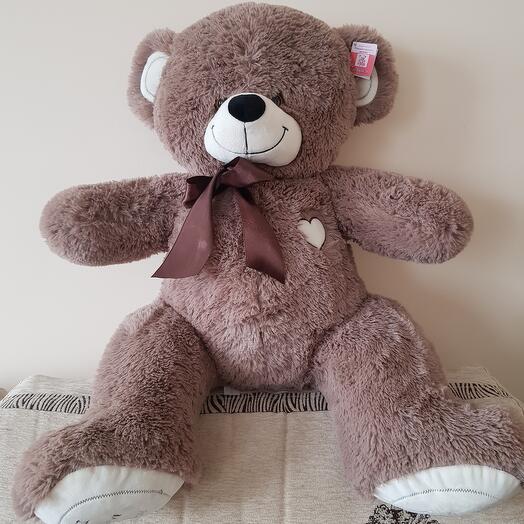 Медведь 90см I LOVE YOU