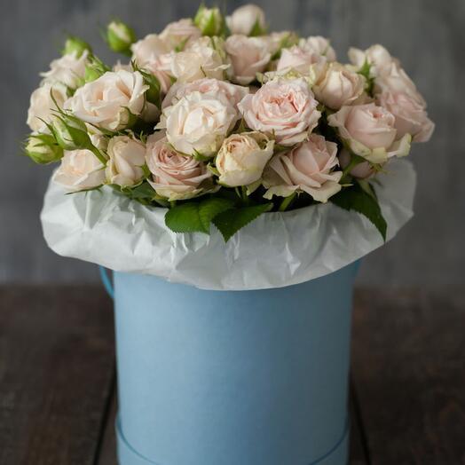Цветы в коробке SKY