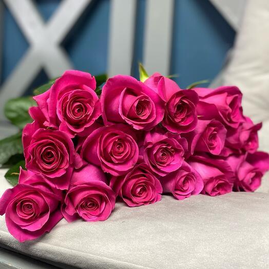Роза Пинк Флойд 15 шт. 60см