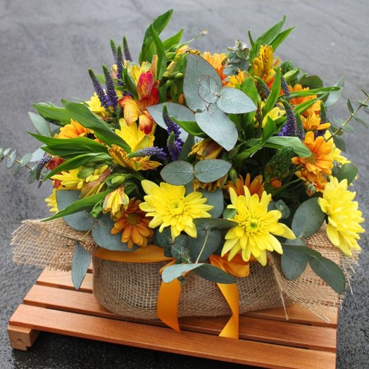 Руки - к солнцу: букеты цветов на заказ Flowwow