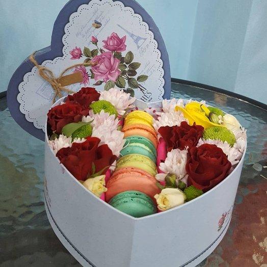 Подарочная коробка  Сладкий поцелуй