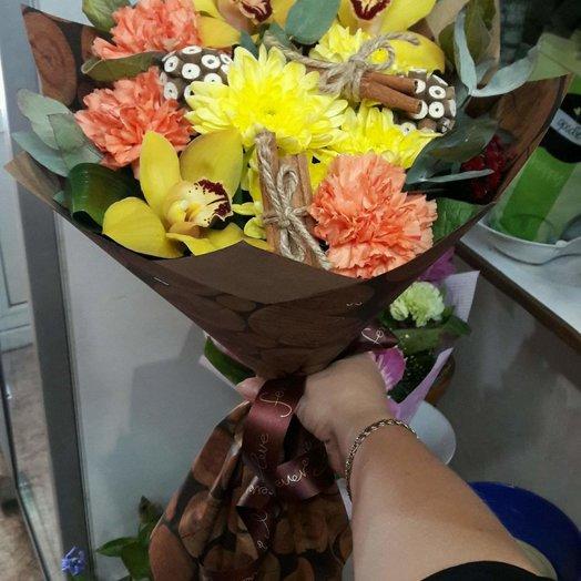 Орхидеи в лесу: букеты цветов на заказ Flowwow
