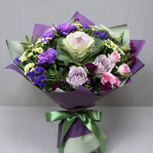 """Букет """"Фиолетовый рай"""": букеты цветов на заказ Flowwow"""