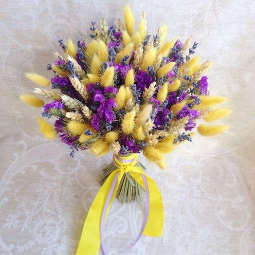 """Букет из сухоцветов """"Яркая весна"""""""