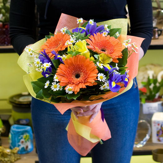"Букет цветов ""Британия"": букеты цветов на заказ Flowwow"