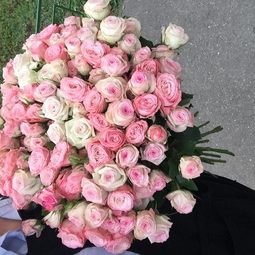 Розовый микс : букеты цветов на заказ Flowwow