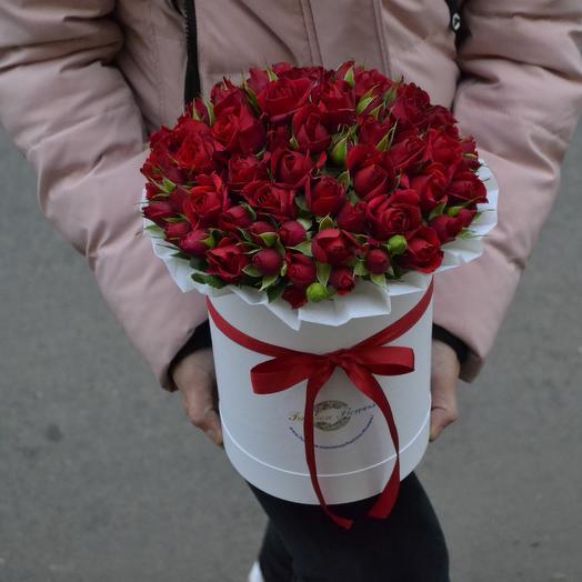 Огонь Страсть: букеты цветов на заказ Flowwow