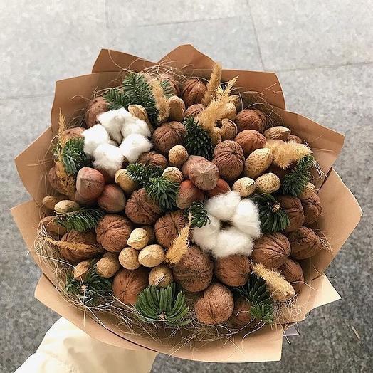 Крепкий орешек: букеты цветов на заказ Flowwow